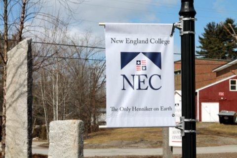 New England College campus in Henniker, N.H.