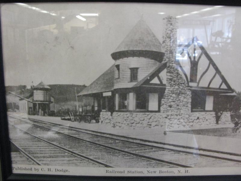 Archive photo of New Boston train station