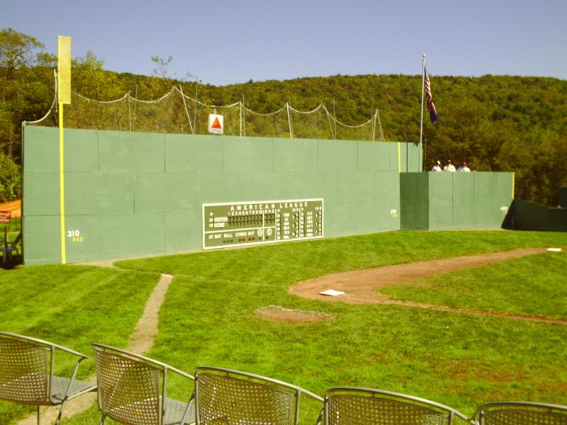The Green Monster at Little Fenway