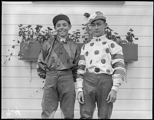Jockeys at Rockingham