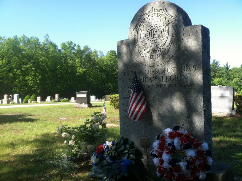 Forest Hill Cemetery in Derry after the Memorial Day ceremony.