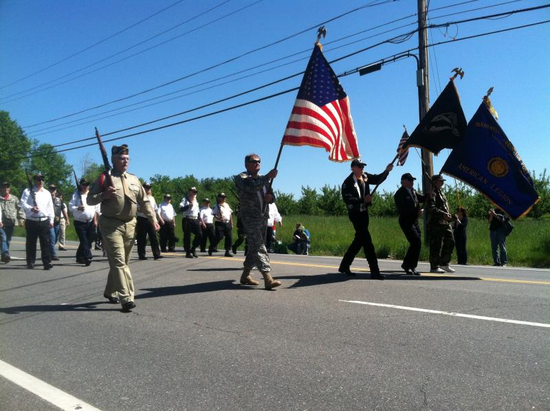 The Memorial Day parade kicks off in Londonderry on Monday.