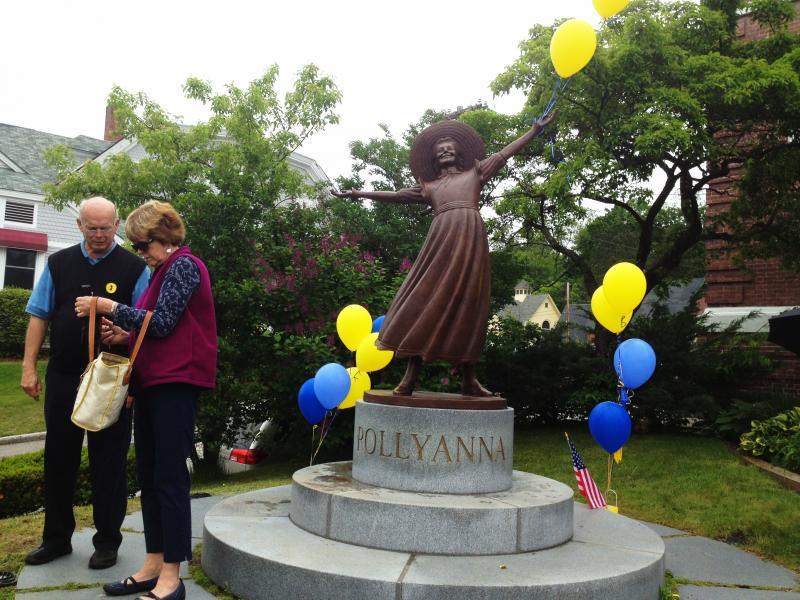 Emile Birch's Bronze Pollyanna Statue