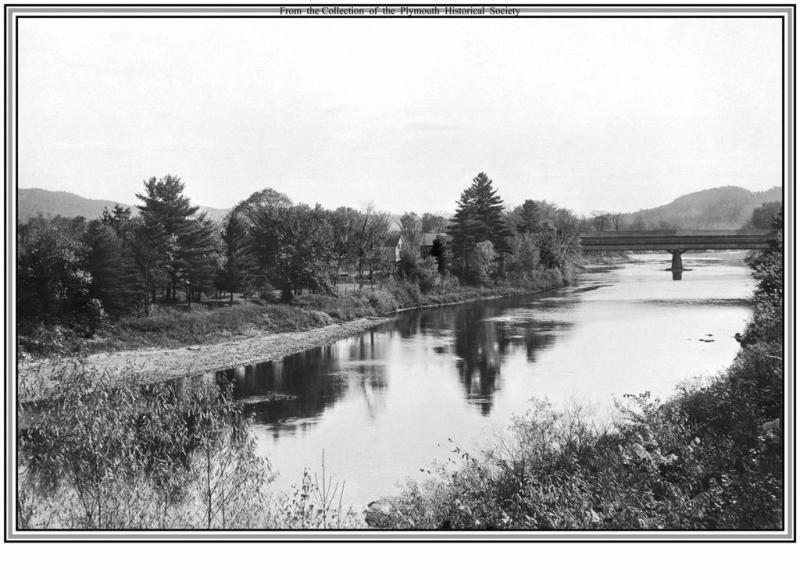 Old archive photo of the Pemigewasset River