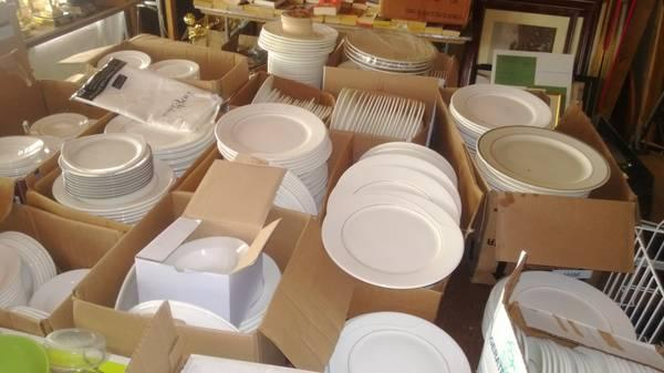 Dishes will also be for sale this weekend at the tag sale at the Mountain View Grand Resort in Whitefield.