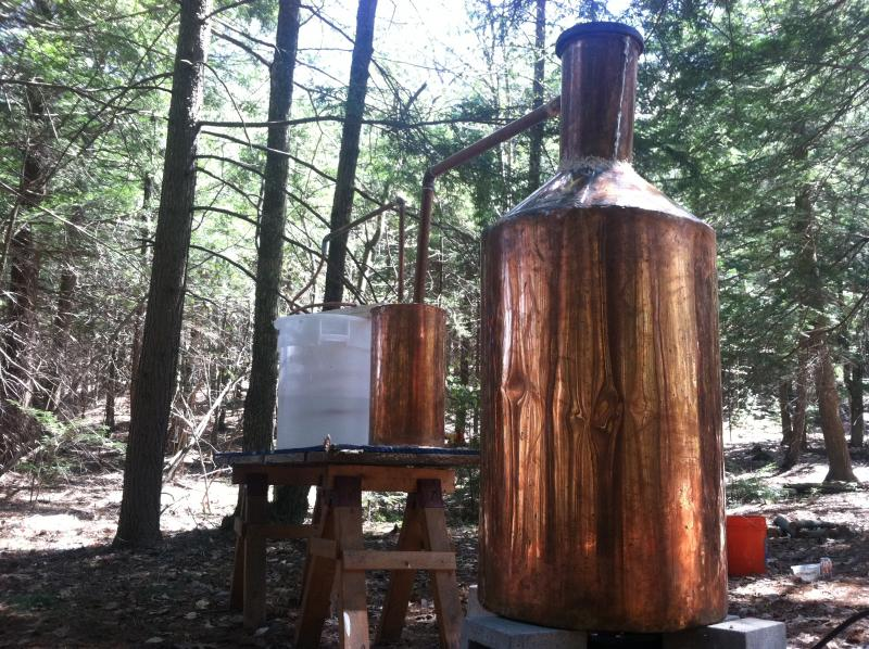 Deep in the woods of New Hampshire, Hoss and his friends turn out 150-proof liquor.