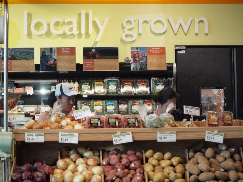 The Monadnock Food Co-op store features locally grown and organic groceries.