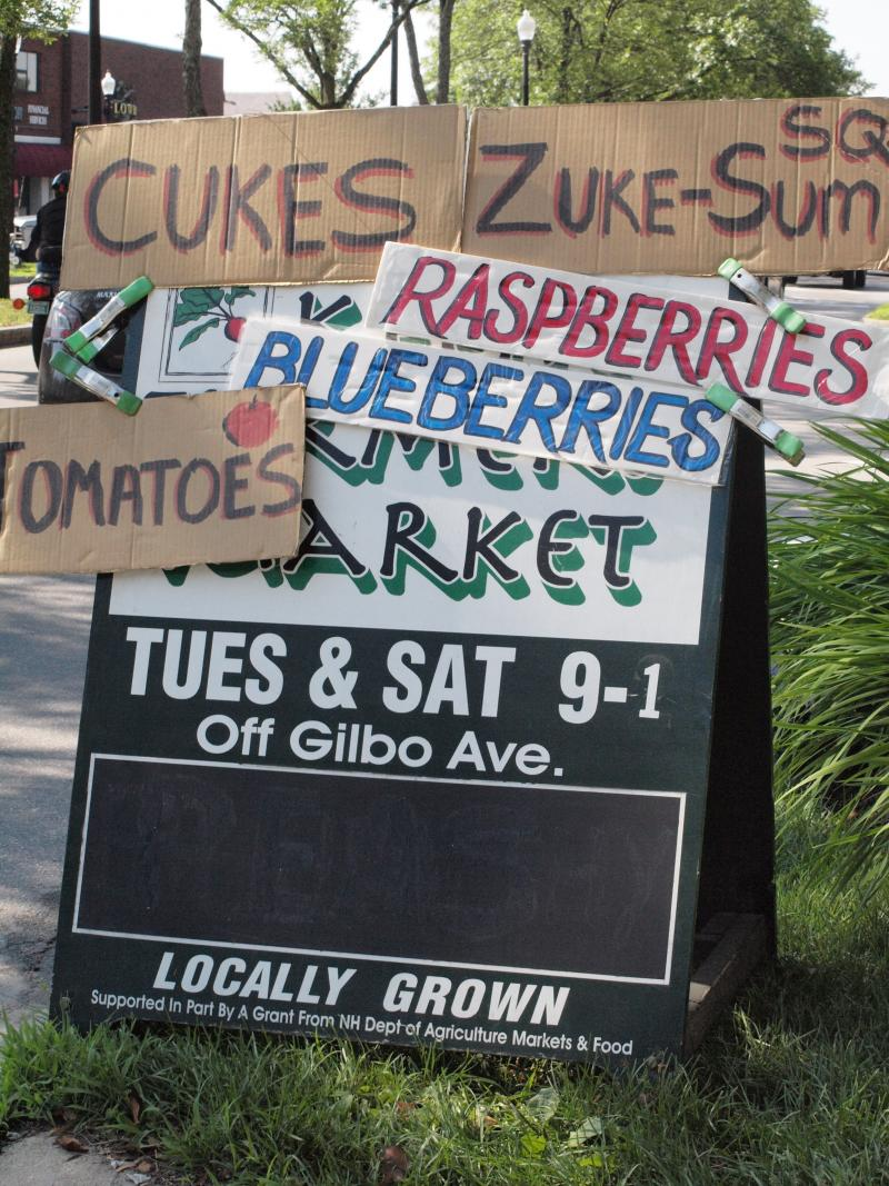 The Keene Farmers Market on Gilbo Avenue sets up Tuesdays and Saturdays 9 a.m. to 2 p.m.