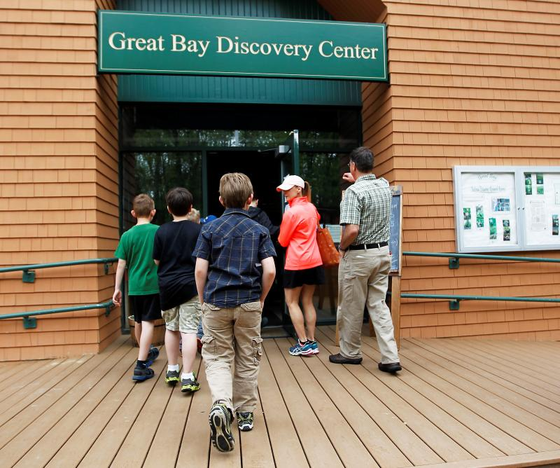 Great Bay Discovery Center in Greenland, N.H.  April 8, 2013.