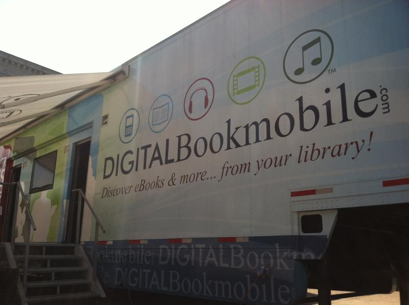 The Digital Bookmobile will be at the Rodgers Memorial Library in Hudson on Thursday.