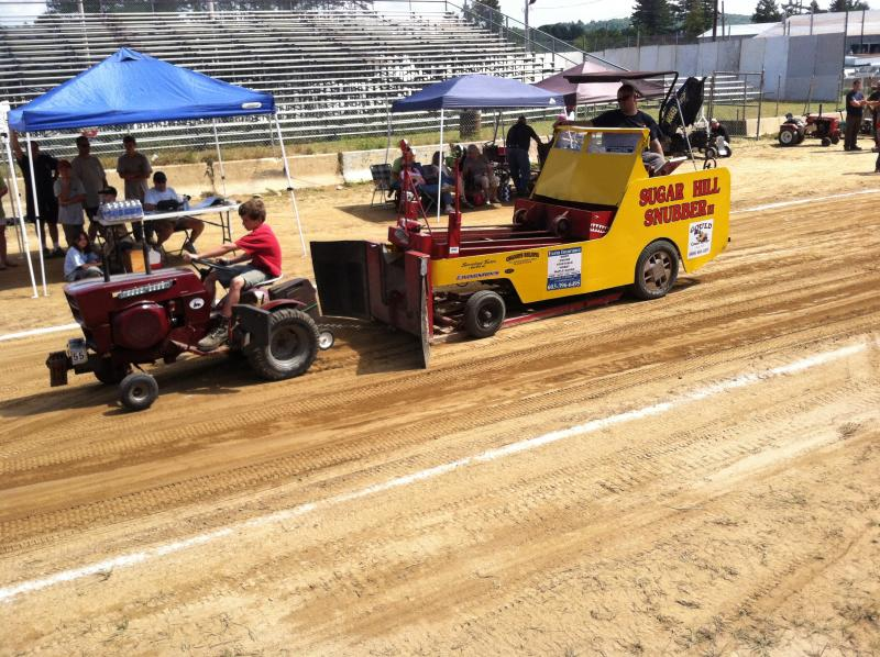 The tractor pull is one of the highlights of the Hopkinton State Fair.