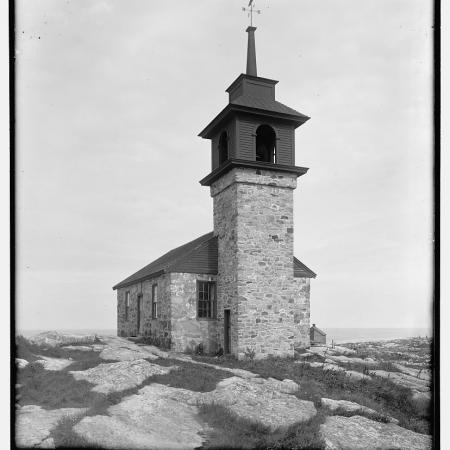 Star Island Old Stone Chapel, Isles of Shoals, N.H.
