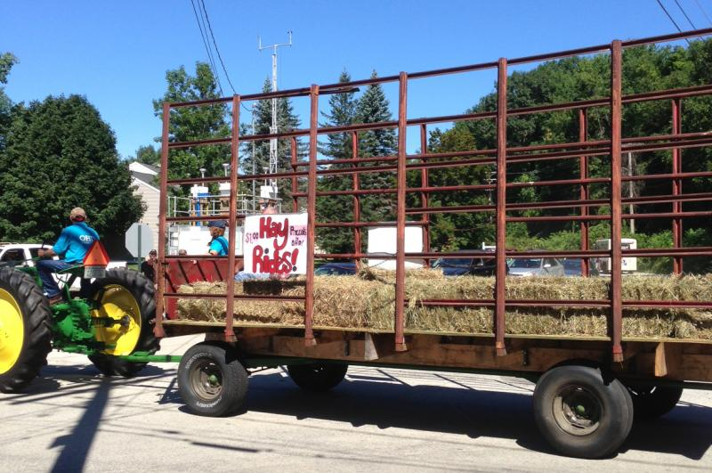 Pembroke/Allenstown Old Home Day runs hay rides, with proceeds going toward next year's OHD.