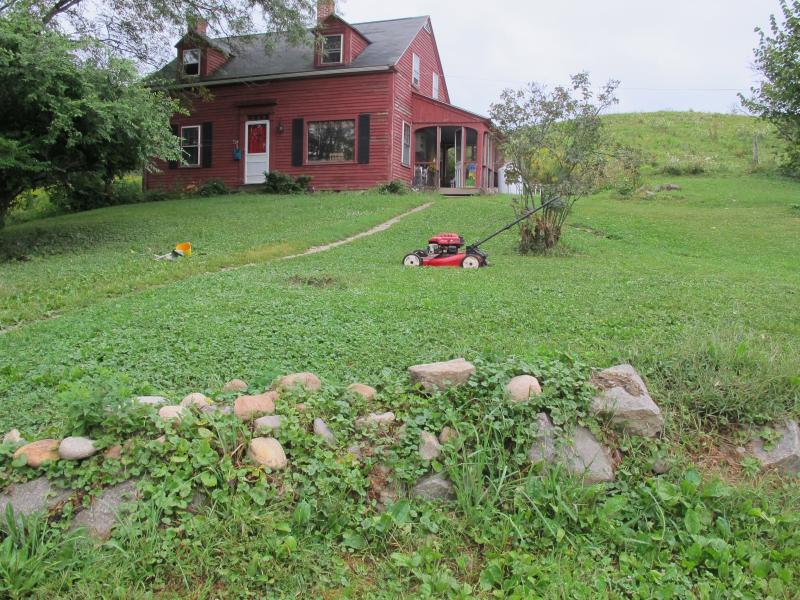 Phil Brand and Rebecca Moorebrand's farm home in Rollinsford