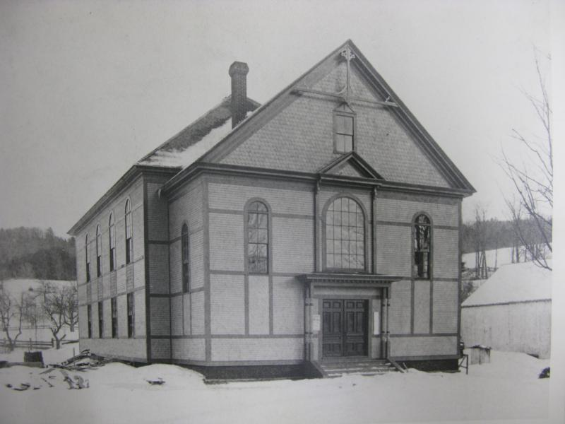Archive photo of Alstead's old Town Hall