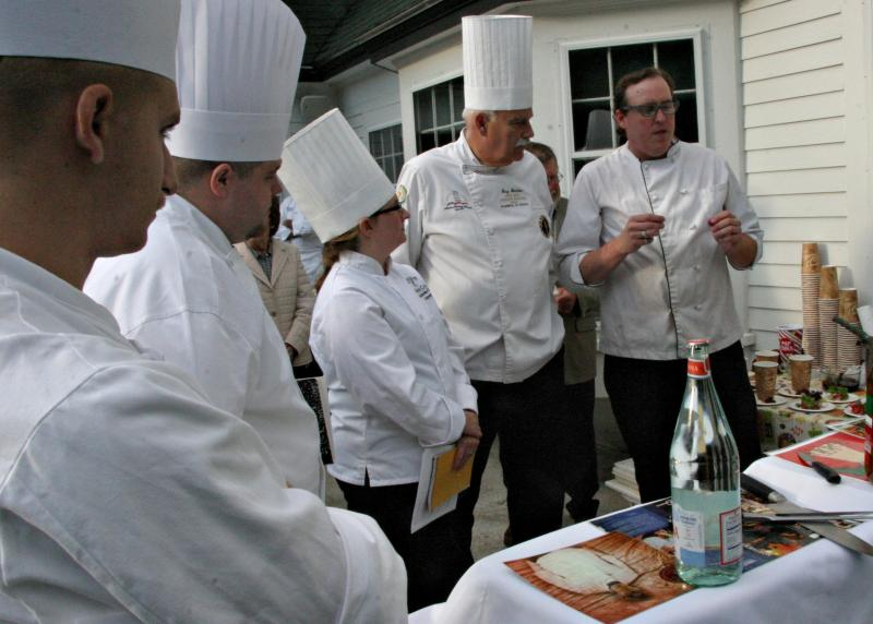 TThree chefs and an apprentice from the White Mountain chapter of the American Culinary Federation were the judges in Franconia.