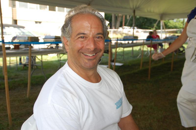 Parish president Christopher Tsakiris is also organizer of the Greek Fest at Taxiarchai Orthodox Church in Laconia.