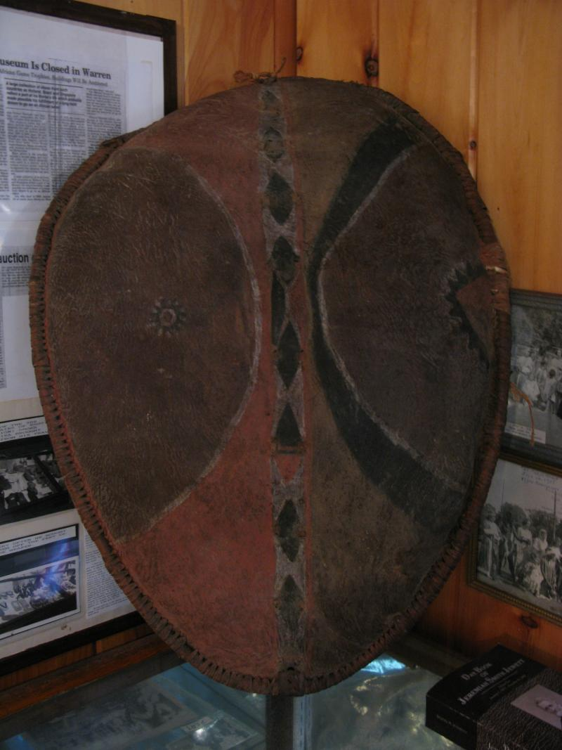 An African Shield from the Morse Museum