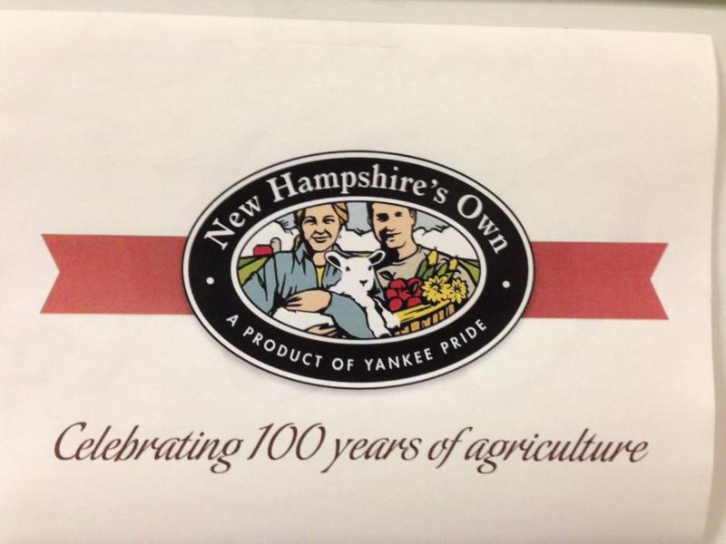 The NH Department of Agriculture was founded 100 years ago today.