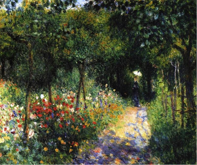 """""""Femmes dans un Jardin"""" (1873)"""