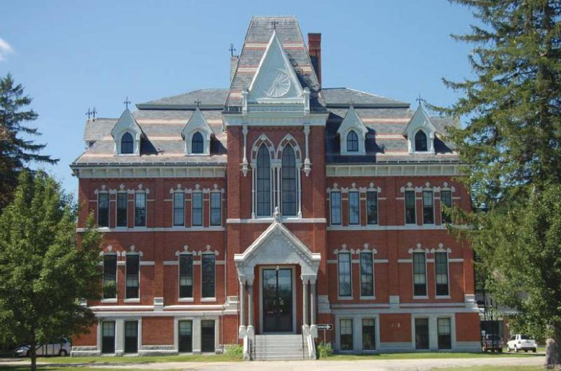 Sanborn Seminary in Kingston was a public high school, but has been unused since 2006.  A $2 million renovation plan was floated last year, but rejected by voters.