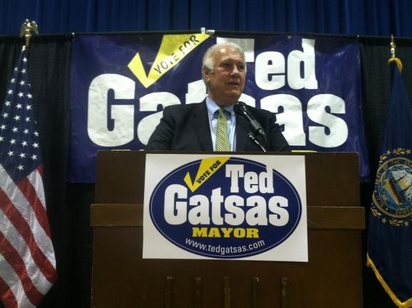 Manchester Mayor Ted Gatsas is pointing to his record as state senator and mayor in his bid for the Republican gubernatorial nomination.