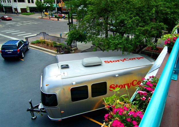 The StoryCorps Mobile Booth