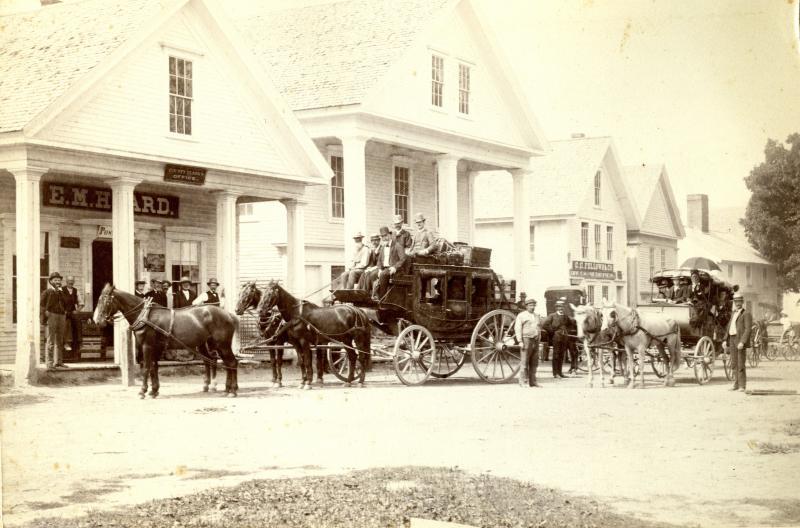 Center Sandwich Lower Square, late 1800s