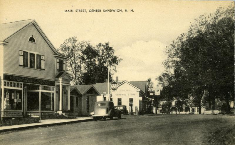 Dearborn's Store & General Store, early 1900's