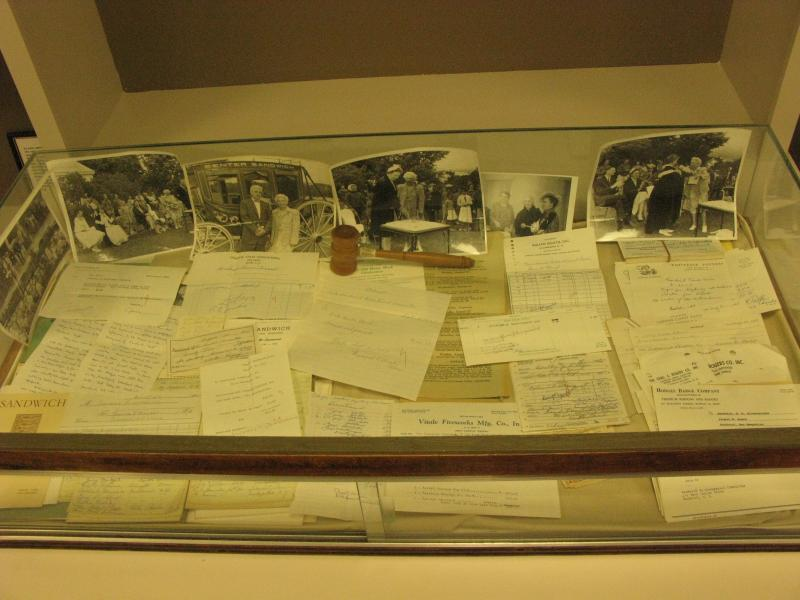 Some of the contents found in the 1963 time capsule