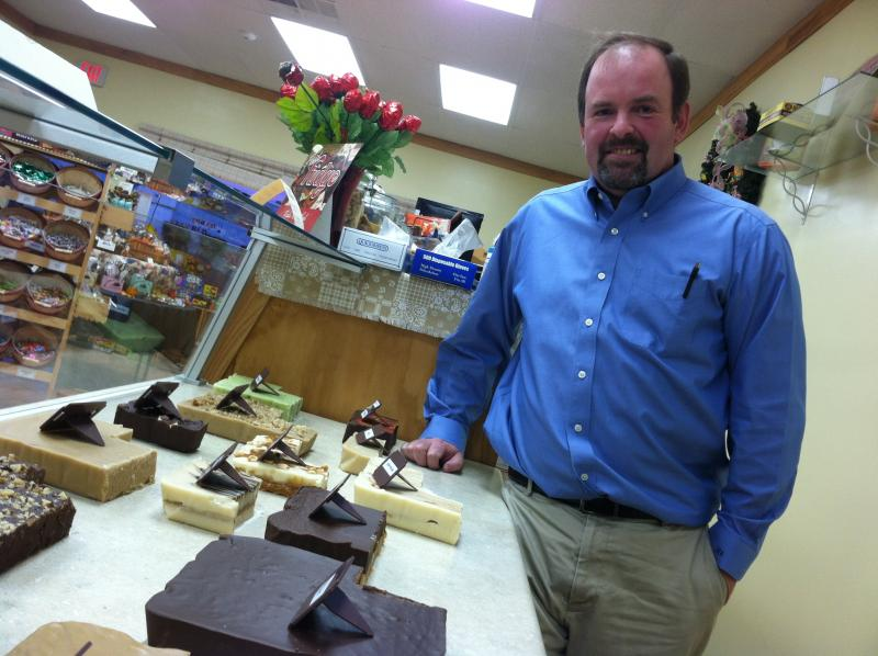 Steve Jackson is the co-owner of Confectionately Yours in Loudon. He owns the store with his wife.