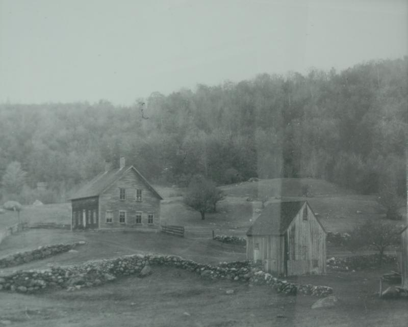 Moses Hall House, late 1800's