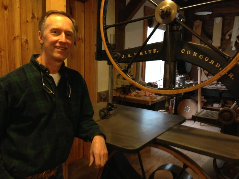 David Lamb is a fine furniture maker from Canterbury. He's also the N.H. Artist Laureate.