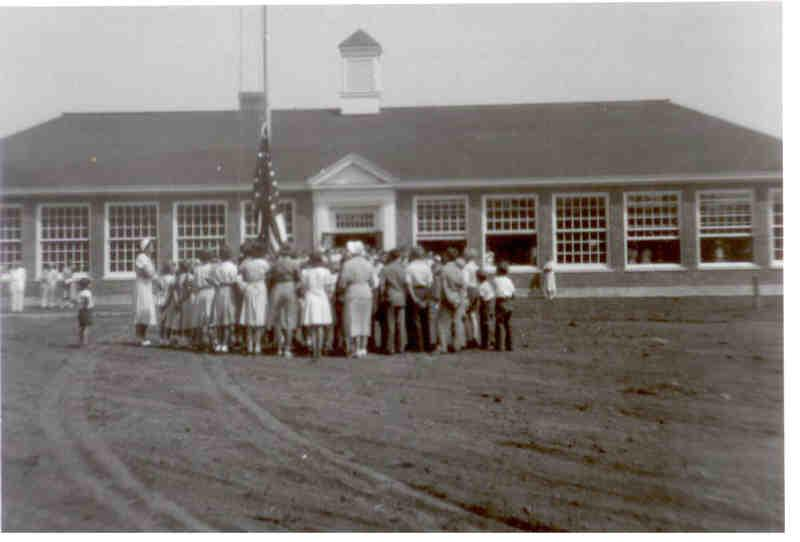 Dedication of Sandwich Middle School in 1950