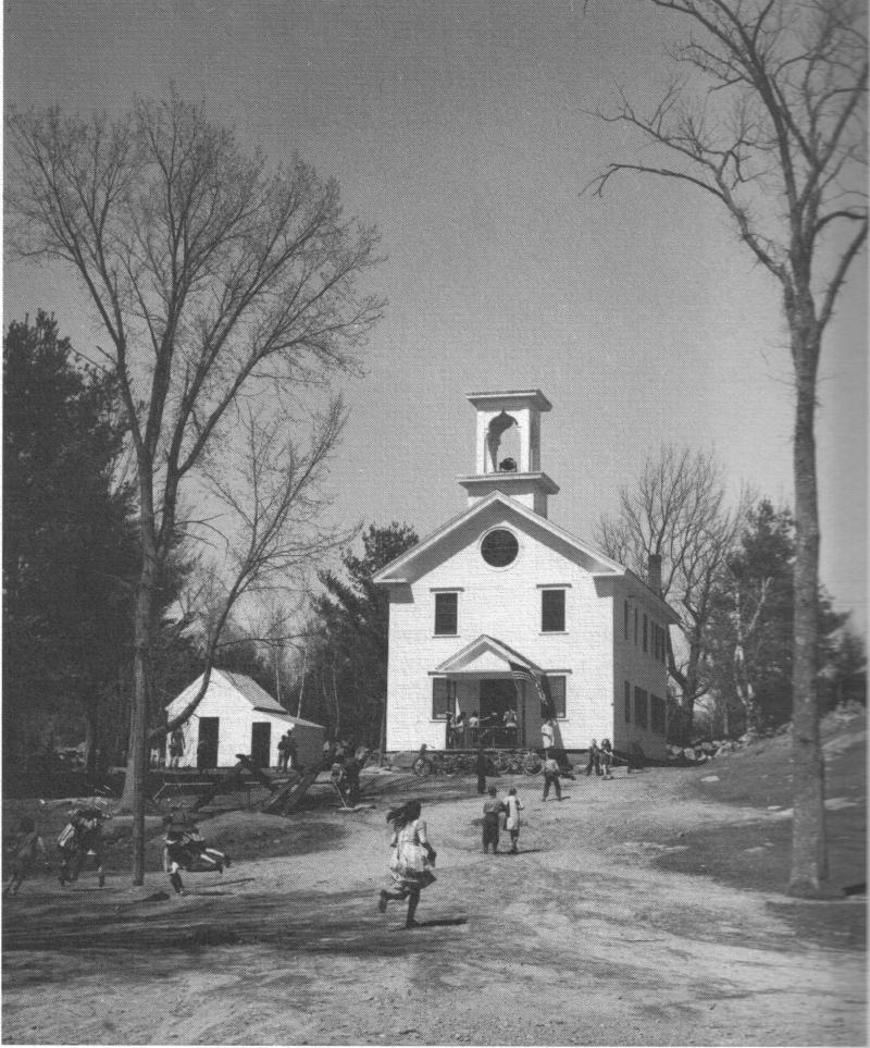Sandwich Elementary School, early 1900s