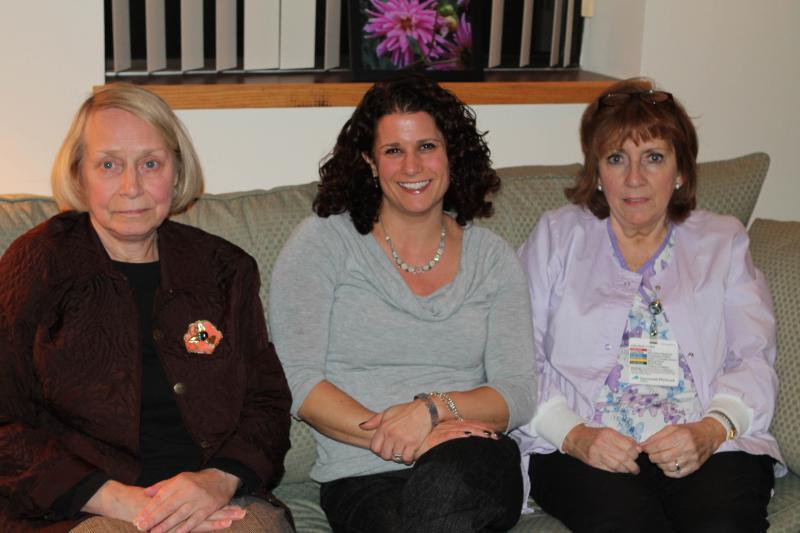 Diane McEntee, Allison Sharpe, Maureen Sloan