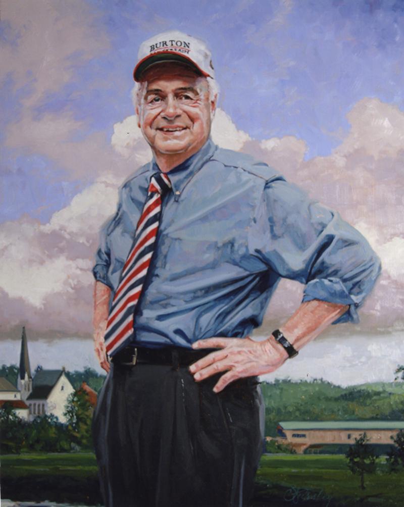 Ray Burton Portrait by  Craig Pursley