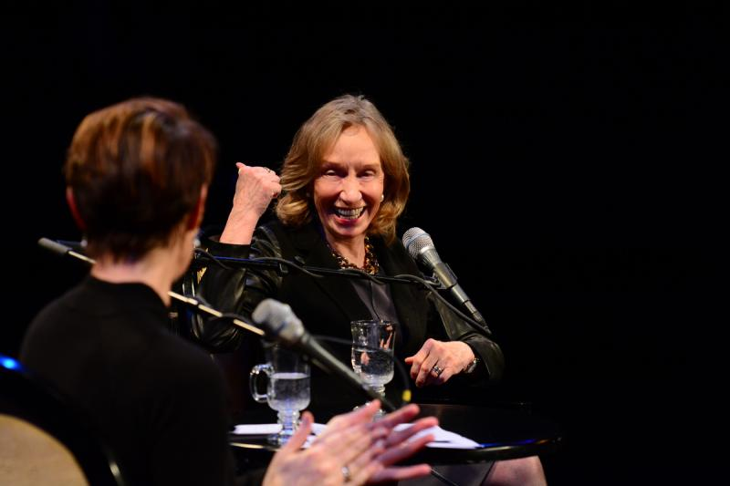 Doris Kearns Goodwin and Virginia Prescott