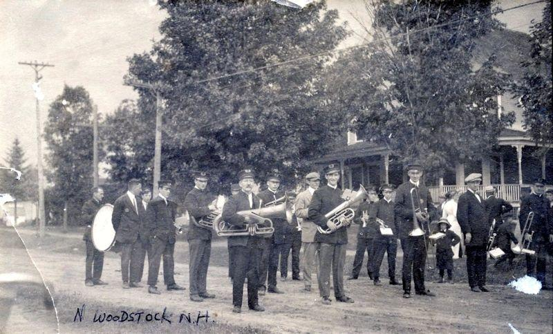 Gala Day in North Woodstock in 1913