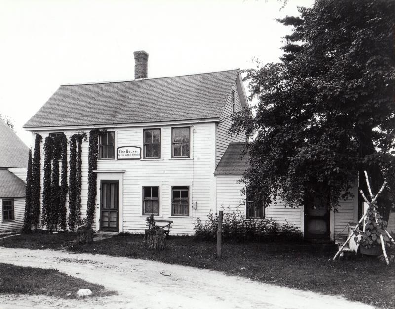 The House by the side of the road in Candia made famous by the Samuel Walter Foss poem