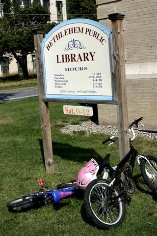 Many of the adults who visited the Bethlehem library in Town Hall first went there as children.