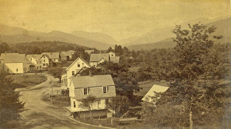 Main Street Woodstock in 1900