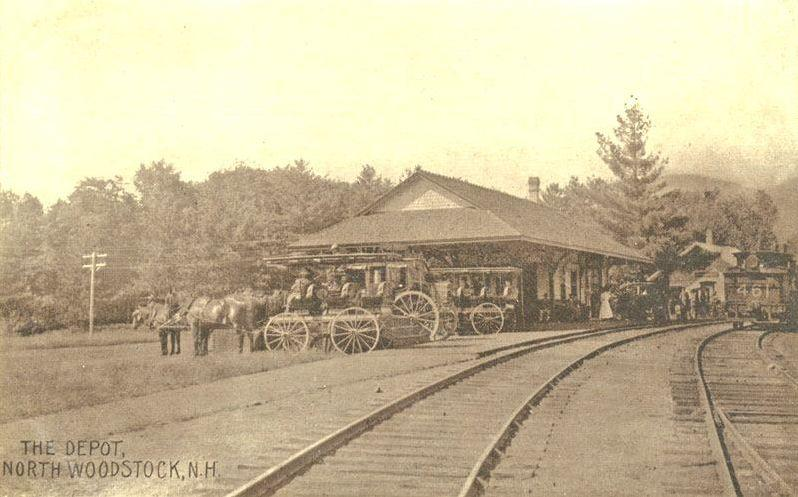 The Depot in North Woodstock