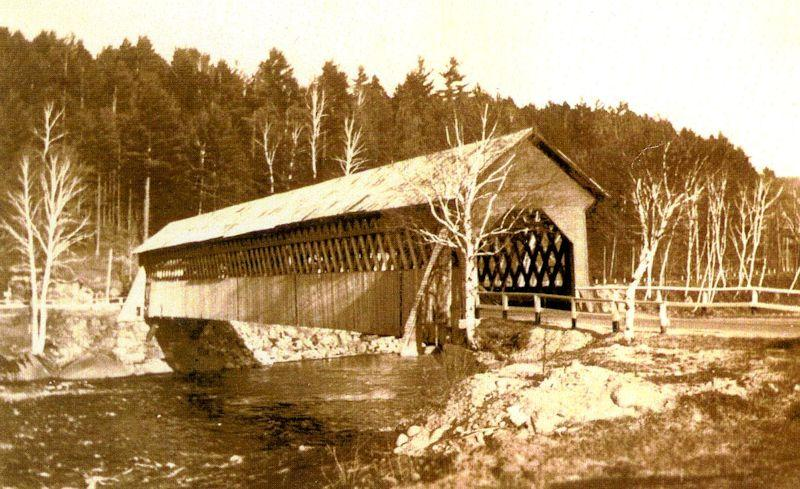 Old Covered Bridge in Woodstock