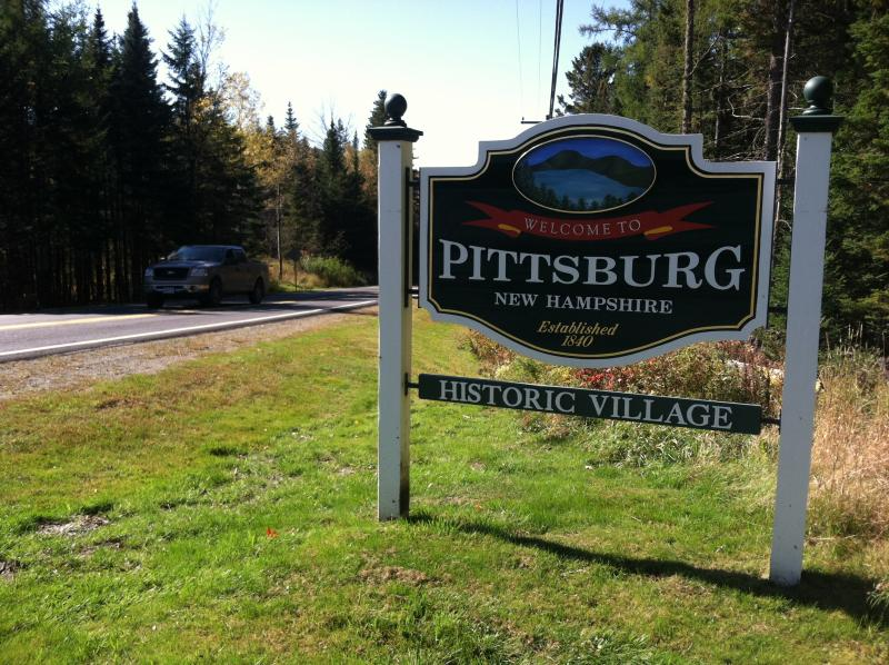 Pittsburg is New Hampshire's northernmost town and also its largest town, area wise.