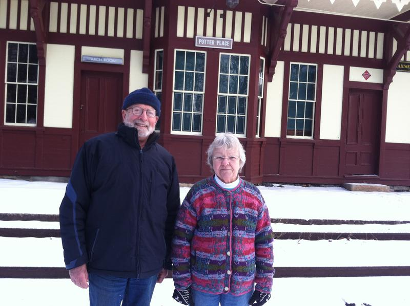 Ed Hiller and Pat Cutter are with the Andover Historical Society.