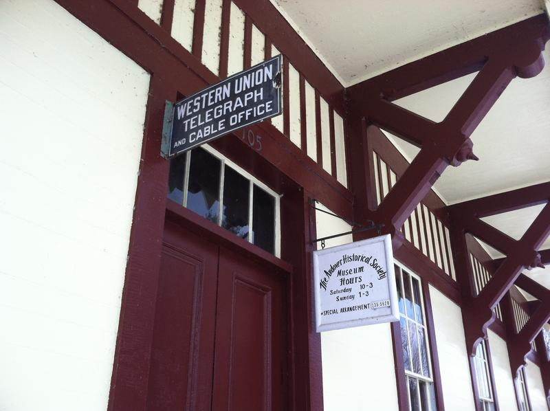 The Potter Place Railroad Station was built in 1874.