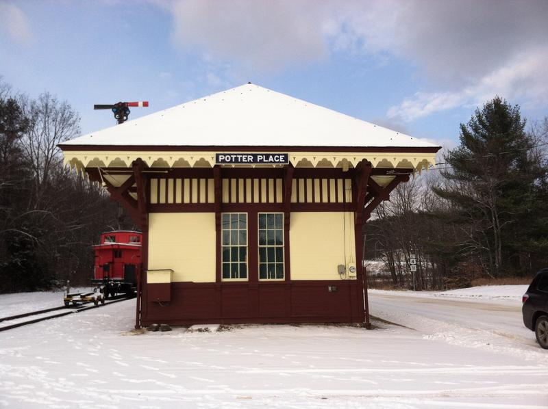 The station houses a significant portion of the Andover Historical Society's collection.