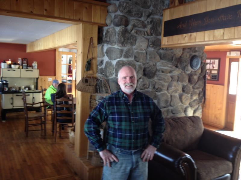 Mahoosic Inn owner Mark Peabody