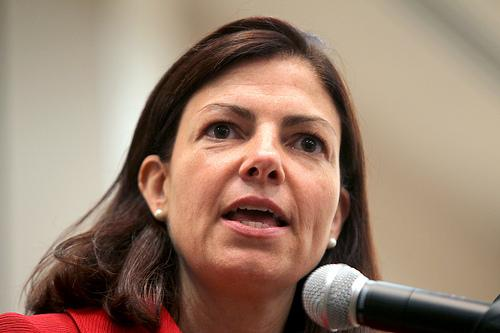 Kelly Ayotte in Portsmouth